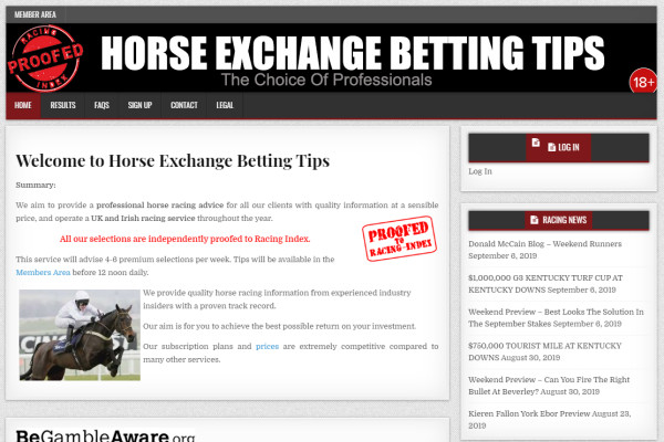 Exchange Betting Strategies