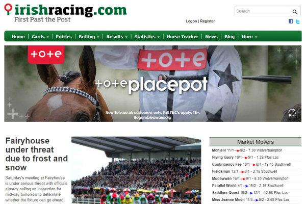 irish horse racing betting