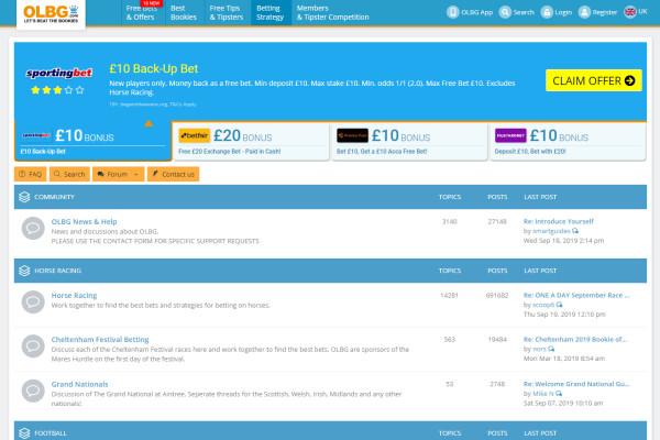 horse betting forum uk discus